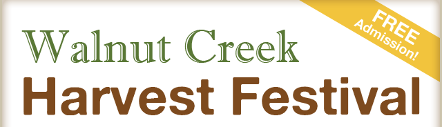 FREE Admission! It's the Walnut Creek Harvest Festival!