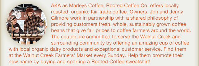 Vendor of the Month: Rooted Coffee Company