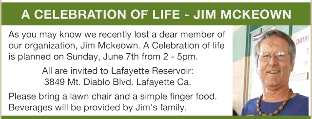Celebration of Life - Jim McKeown
