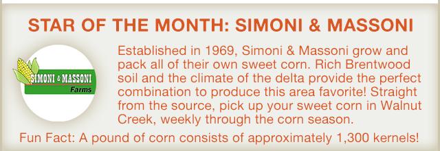 Vendor of the Month: Simoni & Massoni