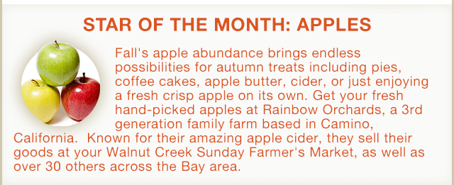 Star of the Month: Apples