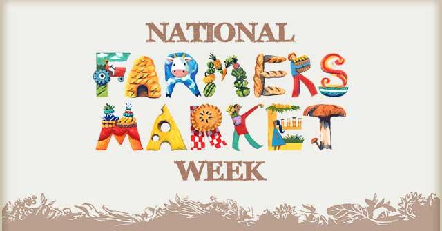 Farmers Market Week!
