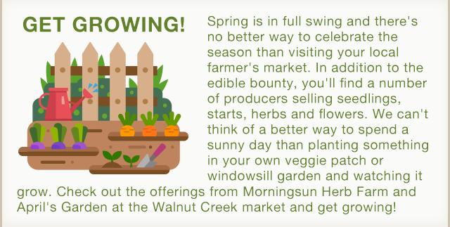Get Growing with Morningsun Herb Farm and April's Garden